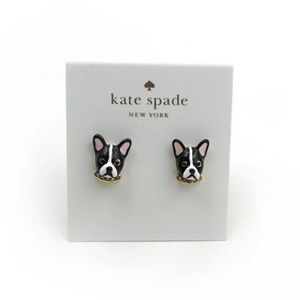 COMING SOON🎈 Kate Spade Antoine Dog Stud Earrings